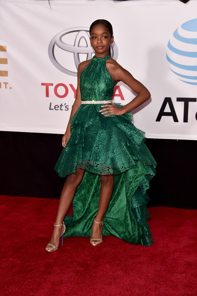Marsai Martin Fishtail Dress