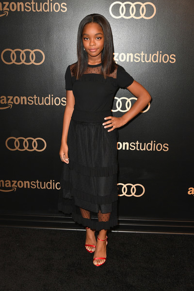Marsai Martin Long Skirt