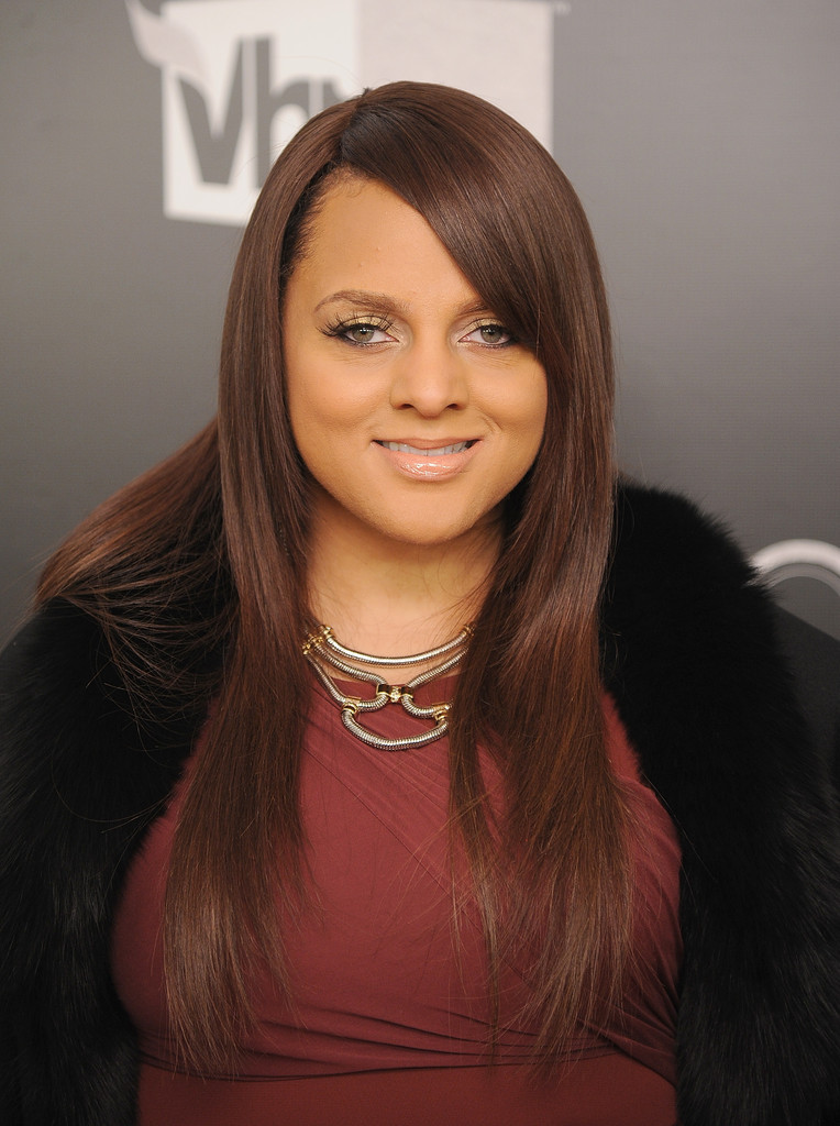 Marsha Ambrosius Long Straight Cut Long Hairstyles