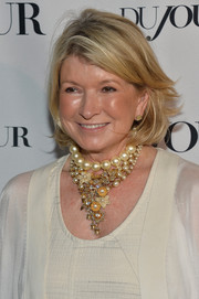 Martha Stewart rocked a messy-chic bob at the South Beach Wine and Food Festival.
