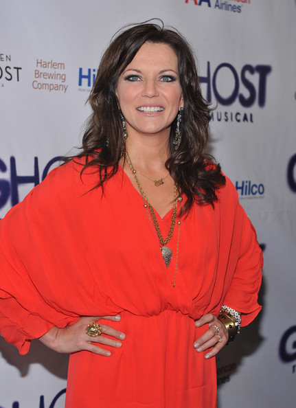 Martina McBride Long Wavy Cut