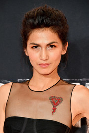 Elodie Yung sported a teased updo at the New York premiere of 'The Defenders.'