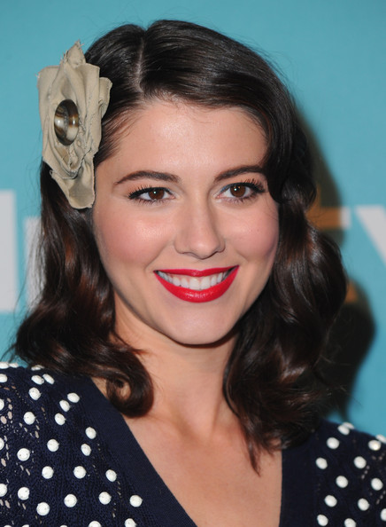 Mary Elizabeth Winstead Red Lipstick