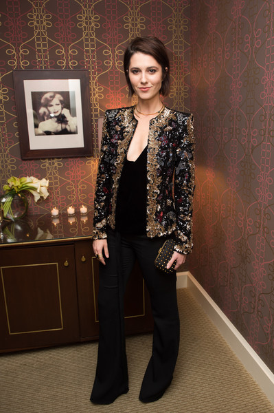 Mary Elizabeth Winstead Sequined Jacket
