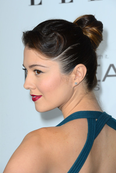 Mary Elizabeth Winstead Retro Updo