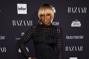 Mary J. Blige Lace Up Boots
