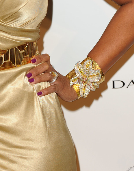 Mary J. Blige Dark Nail Polish