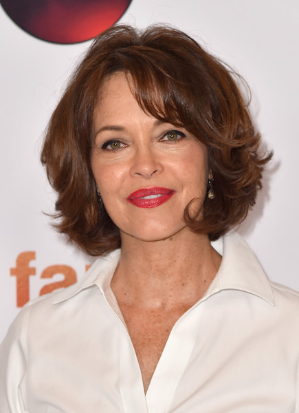Mary Page Keller Short Wavy Cut [tour photo,hair,face,hairstyle,lip,chin,beauty,skin,eyebrow,lady,blond,mary page keller,call,beverly hills,california,beverly hilton hotel,abc television group,disney,summer tca press,tca summer press tour]