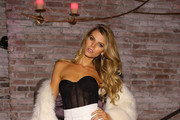 Maryna Linchuk Fur Coat
