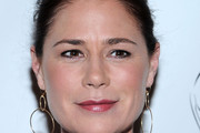 Maura Tierney Gold Dangle Earrings