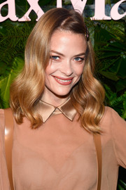 Jaime King looked oh-so-pretty with her vintage-style waves at the Max Mara WIF Face of the Future event.