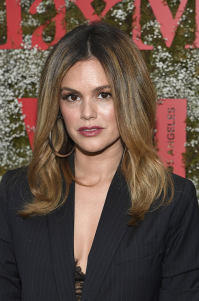 Rachel Bilson sported a high-volume center-parted 'do at the InStyle Max Mara Women in Film celebration.