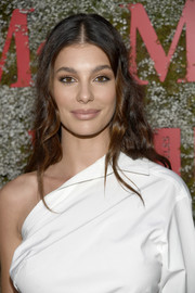 Camila Morrone sported a long wavy 'do at the InStyle Max Mara Women in Film celebration.