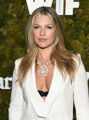 Ali Larter wore her long hair down with flippy layers during the Women in Film Face of the Future Award.