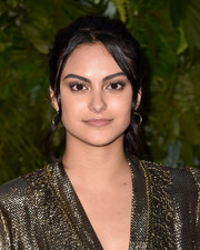 Camila Mendes pulled her hair back into a casual ponytail for the Max Mara WIF Face of the Future event.