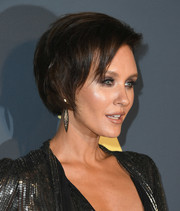 Nicky Whelan wore her hair in an edgy bob at the Maxim Hot 100 Experience.