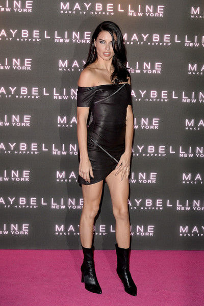 Adriana Lima at Maybelline's Bring on the Night Party