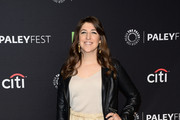 Mayim Bialik Leather Jacket