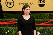 Mayim Bialik Mermaid Gown