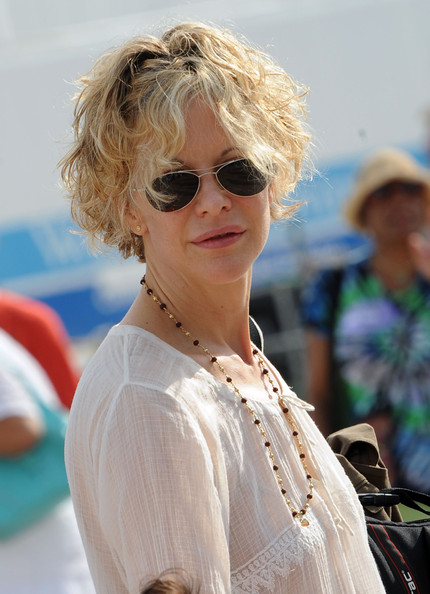 Meg Ryan Curled Out Bob [exclusive coverage,eyewear,hair,sunglasses,blond,hairstyle,glasses,lady,fashion,vision care,lip,meg ryan,fair grounds race course,new orleans,louisiana,shell,new orleans jazz heritage fesival,new orleans jazz heritage festival]