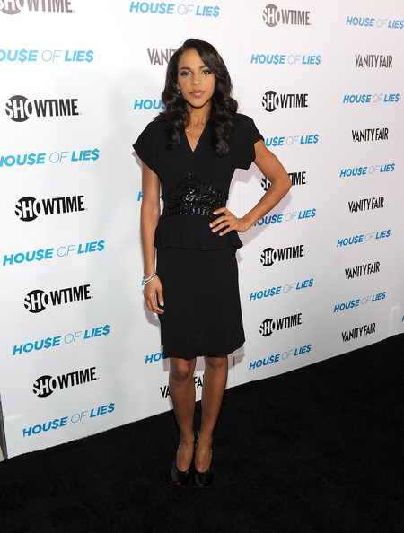 Megalyn Echikunwoke Little Black Dress