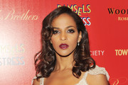 Megalyn Echikunwoke Red Lipstick