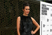 Megan Gale Beaded Dress