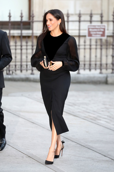 Meghan Markle Little Black Dress [at the royal academy of arts,art,black,clothing,fashion model,little black dress,shoulder,dress,fashion,leg,formal wear,shoe,dress,meghan markle,harry,duchess,survey,oceania,sussex,sussex opens,meghan duchess of sussex,little black dress,black givenchy dress of audrey hepburn,dress,invictus games,wedding of prince harry and meghan markle,givenchy,clothing,sleeve]