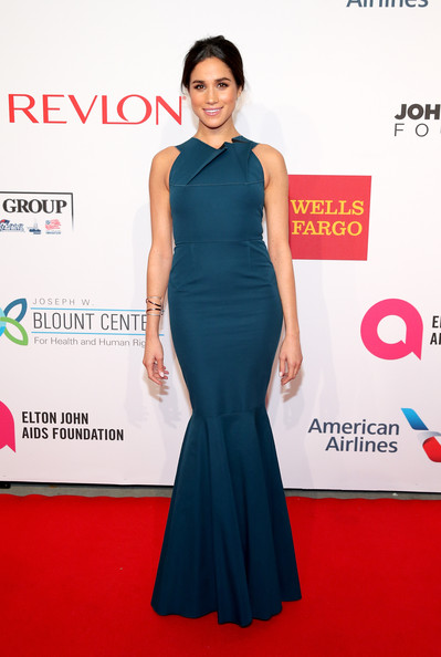 Meghan Markle Mermaid Gown
