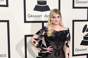 Meghan Trainor Off-the-Shoulder Dress