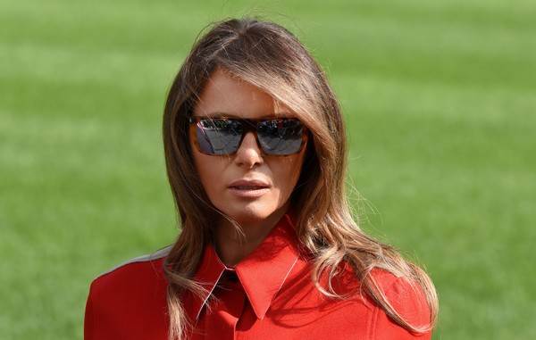 Melania Trump Rectangular Sunglasses