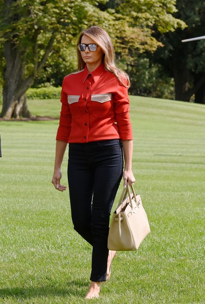 Melania Trump Button Down Shirt