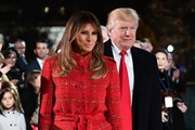 Melania Trump Tweed Coat