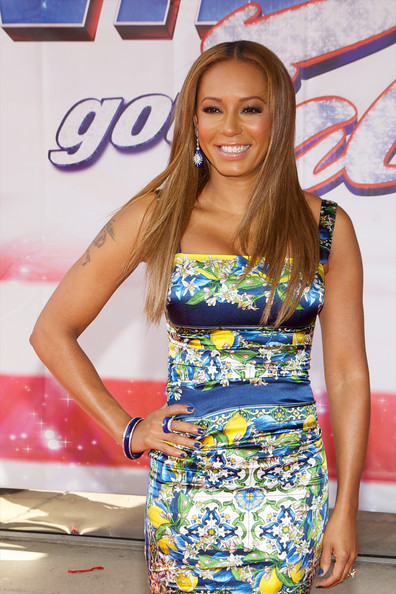 Melanie Brown Hair