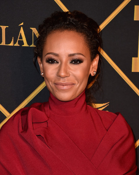 Melanie Brown Loose Ponytail