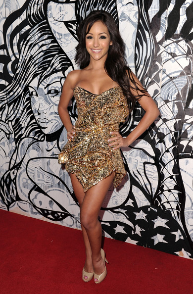 Melanie Iglesias Strapless Dress