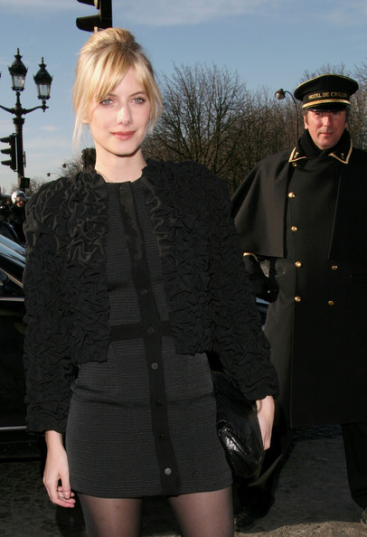 Melanie Laurent Cropped Jacket