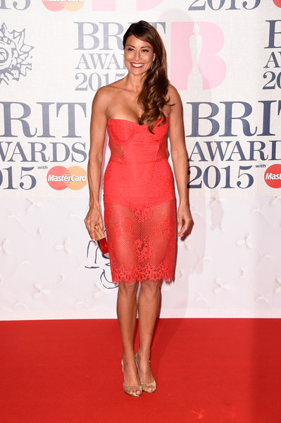 Melanie Sykes Strapless Dress