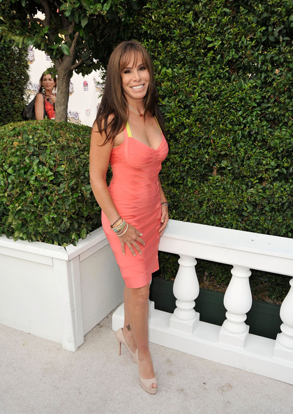 Melissa Rivers Bandage Dress - Melissa Rivers Looks - StyleBistro