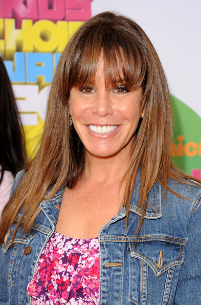 Melissa Rivers Long Straight Cut with Bangs