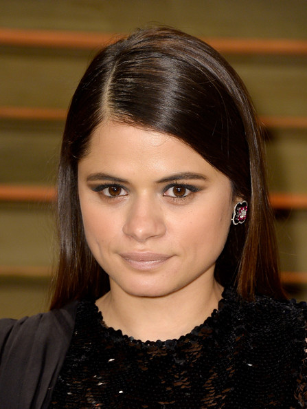 Melonie Diaz Long Side Part