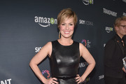Melora Hardin Leather Dress