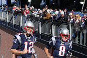 Tom Brady and Brian Hoyer Photo