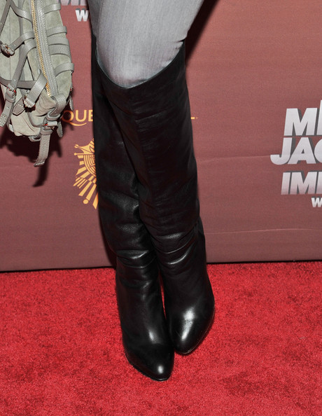 More Pics of Tyra Banks Knee High Boots (2 of 7) - Tyra Banks Lookbook - StyleBistro