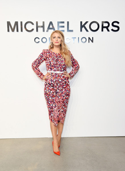 Blake Lively at Michael Kors Collection