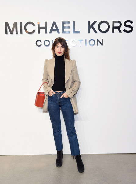 Jeanne Damas at Michael Kors Collection