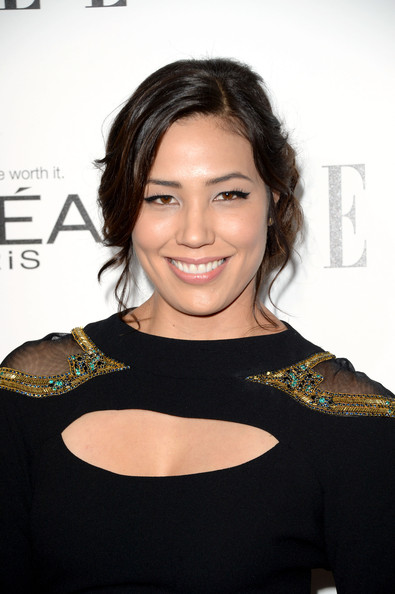 Michaela Conlin Bobby Pinned Updo