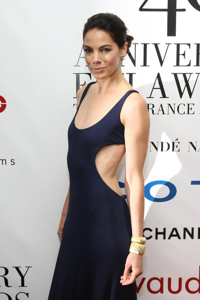 Michelle Monaghan Cuff Bracelet [michelle monaghan,fifi,fifi awards,arrivals,awards,clothing,dress,shoulder,cocktail dress,little black dress,fashion model,red carpet,fashion,premiere,carpet,alice tully hall,new york city,lincoln center]