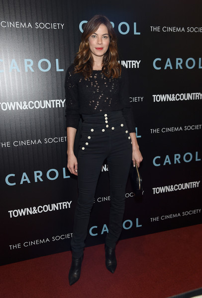 Michelle Monaghan High-Waisted Pants