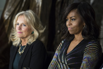 Michelle Obama Jill Biden Michelle Obama and Jill Biden Attend Attend Women's History Month Reception